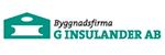 Byggnadsfirma G Insulander AB