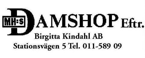 MH:s Damshop Eftr Birgitta Kindahl AB