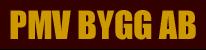 PMV Bygg AB