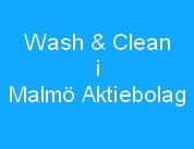 Wash & Clean i Malmö AB