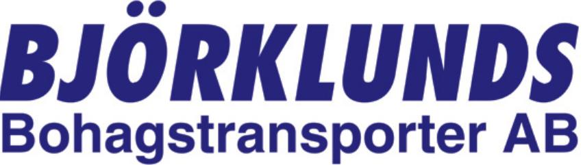 Björklunds Bohagstransporter AB