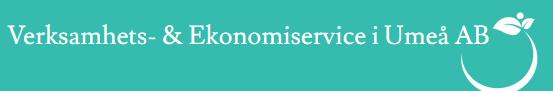 Verksamhets - & Ekonomiservice i Umeå AB