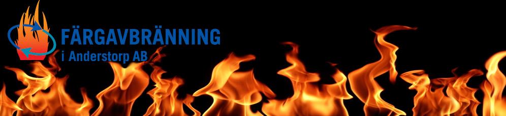 Färgavbränning Försäljning AB